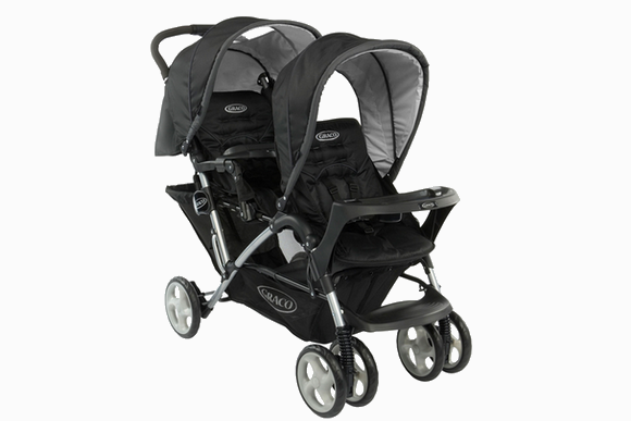mon joli coeur notre poussette double la duette de peg perego. Black Bedroom Furniture Sets. Home Design Ideas