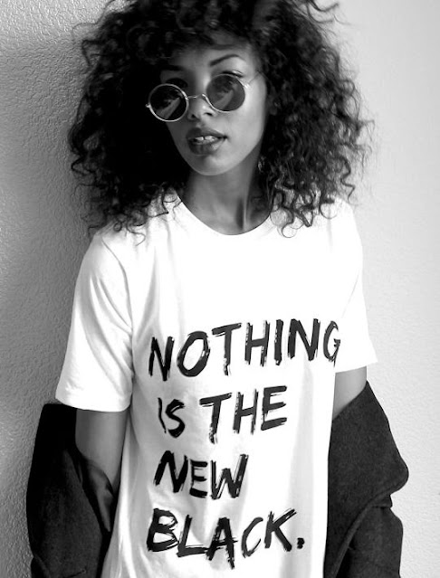 Nothing Is The New Black tee shirt.  PYGear.com