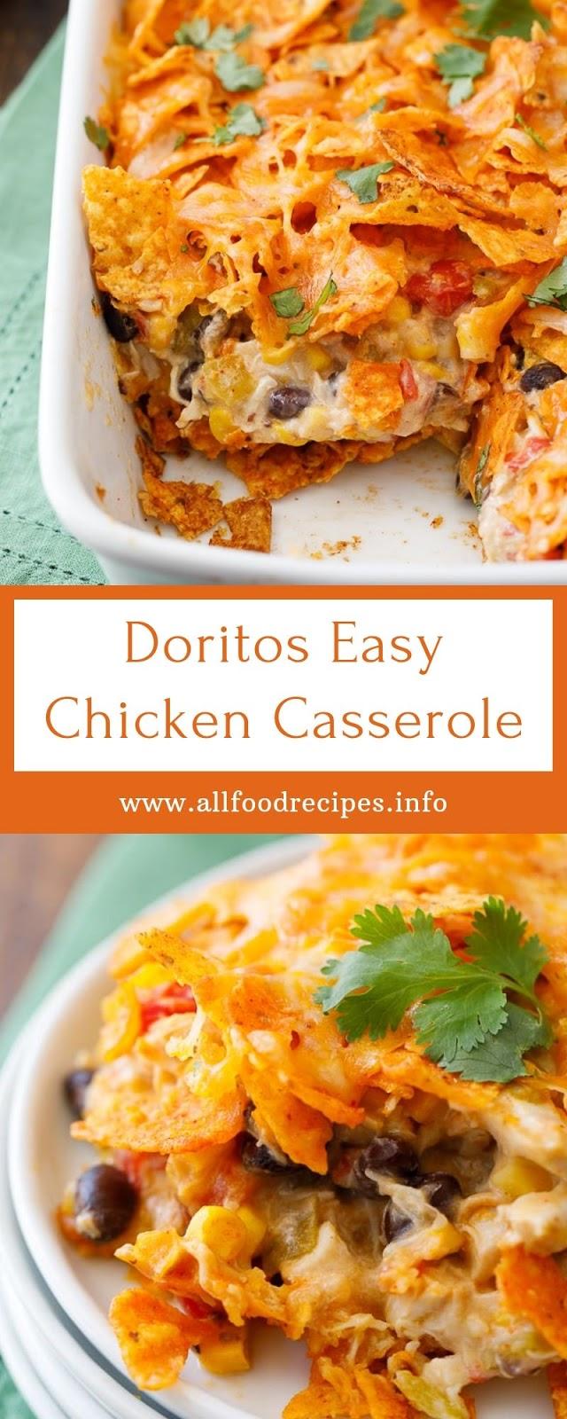 Doritos Easy Chicken Casserole