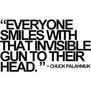 Meme sobre Chuck Palahniuk