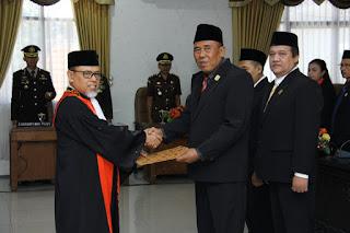 Paripurna DPRD Kota Mojokerto Tetapkan Tiga Pimpinan Definitif