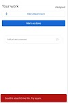 """How to Fix """" Couldn't attach Drive file """" in google classroom 2020 - Techy Mist"""