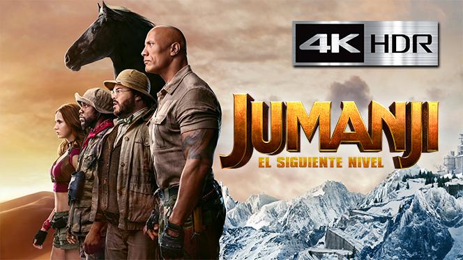 Jumanji: El siguiente nivel (2019) 4K UHD [HDR] Latino-Ingles