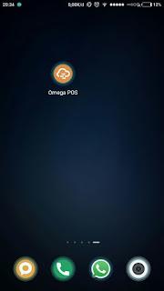 instal aplikasi kasir online gratis omegasoft  minimarket