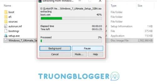 Hướng dẫn cách giải nén, mở chạy File ISO nhanh chóng
