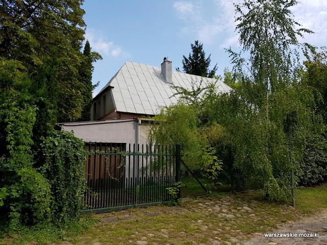 Warszawa Warsaw Młociny Bielany miasto ogród architektura ulice Bielan