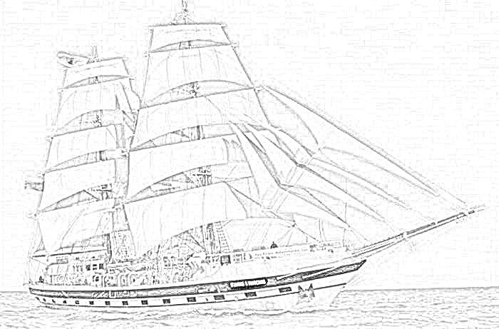 british sailing warship coloring pages - photo#18