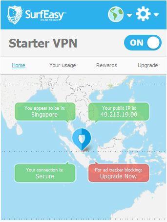 برنامج, للاتصال, بالانترنت, بشكل, مجهول, وحماية, الخصوصية, SurfEasy ,VPN