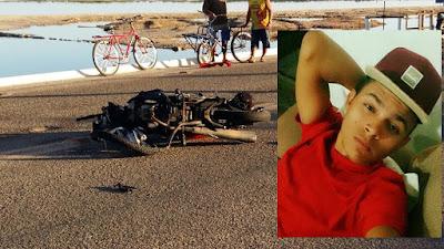 Macau: Acidente com vitima fatal na estrada da praia de camapum deixa vitima fatal.