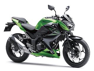Kawasaki Z250 Non-ABS terbaru 2016 hijau