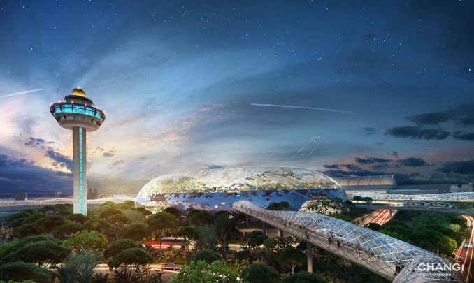 The Inflora - Changi Airport Project Jewel