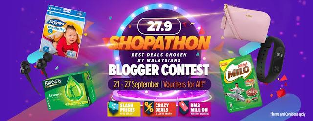 Lazada Shopathon Blogger Contest