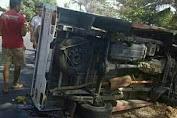 2 Pelajar SMK Meninggal Akibat Mobil Rombongan Alami Kecelakaan di Mekarmukti-Garut