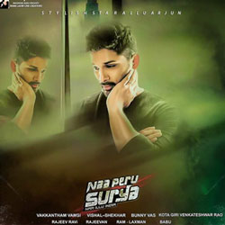 Naa Peru Surya (2018) Telugu Movie Audio CD Front Covers, Posters, Pictures, Pics, Images, Photos, Wallpapers