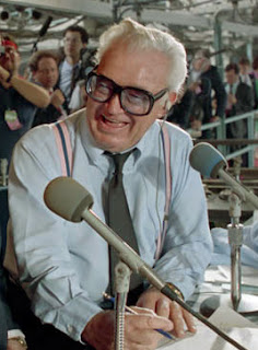 Harry Caray, famous American baseball announcer