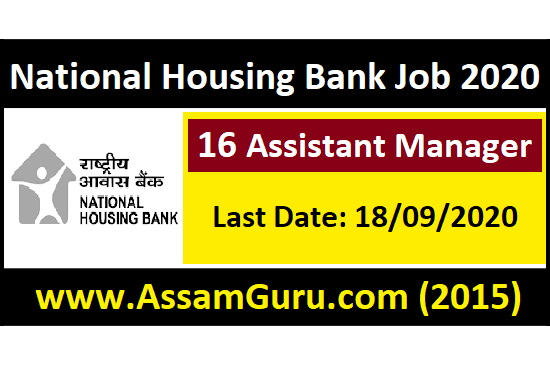 National Housing Bank Job 2020