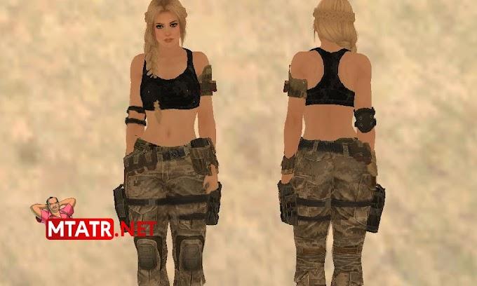 MTA SA Helena Military Camo