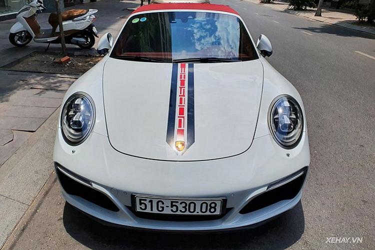 Porsche 911 Targa 4S hàng hiếm hơn 11 tỷ lăn bánh ở Sài Gòn