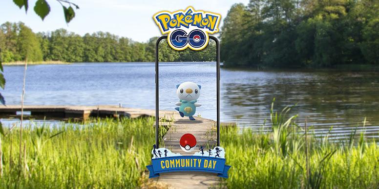 Dia Comunitário Oshawott Pokémon GO