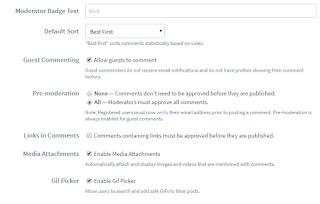 Cara Mengaktifkan Moderasi Komentar Disqus Untuk Mencegah Komentar Spam