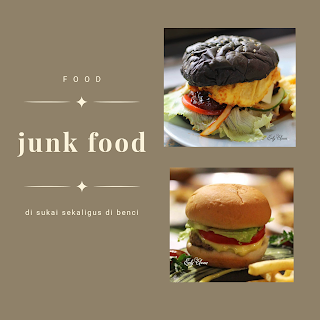 junk food burger canva
