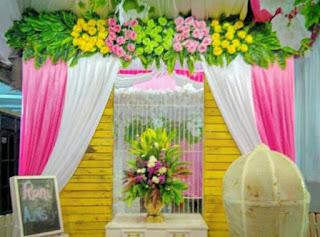 dekorasi wedding modern di cilegon - ainul asghary