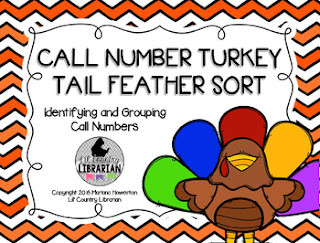 Call Number Turkey Tail Feather Sort
