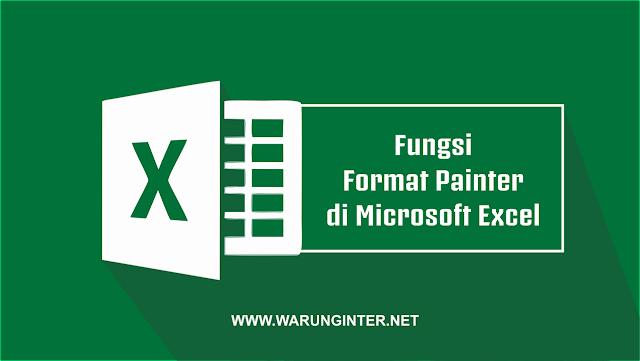 Fungsi Format Painter