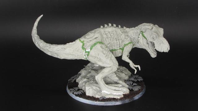 Tyrannosaurus Zombie (built)