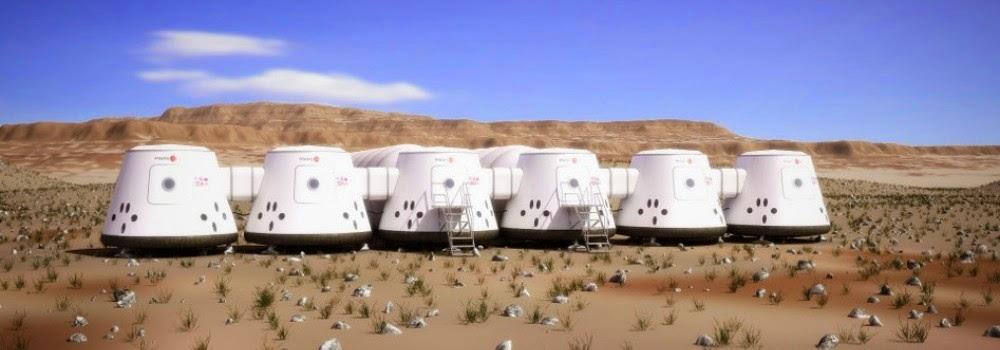 Colonies on Mars