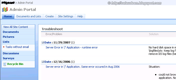 Reset Default.aspx page to Get SharePoint 2007 Look and Feel