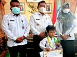 Maulana Malik Ibrim HarumKan Nama Sungai Penuh, Toreh Prestasi Internasional Karate Virtual,