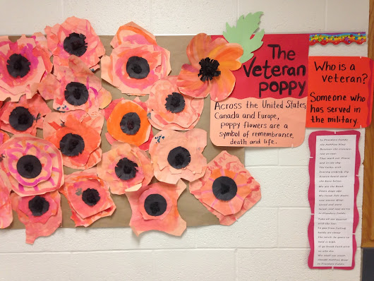 Veterans/Armistice Day Poppies