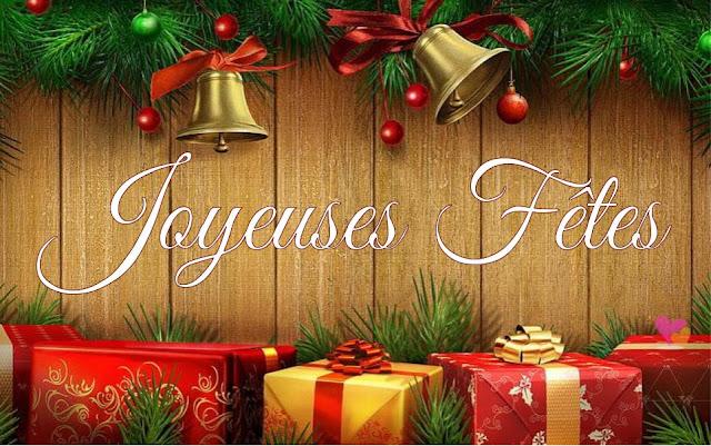 Nous vous souhaitons de joyeuses fêtes de fin d'année