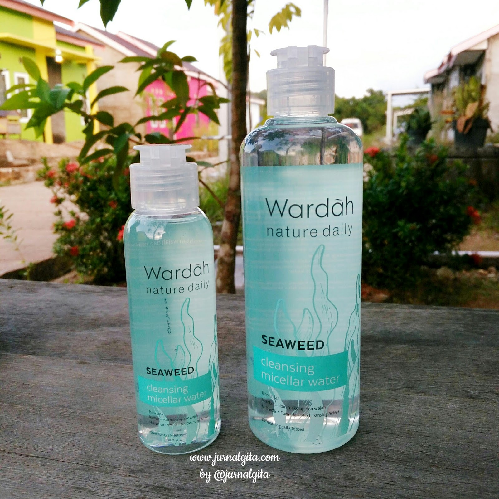 Review Wardah Nature Daily Seaweed Cleansing Micellar Water