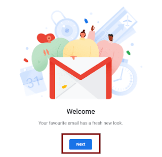 gmail update