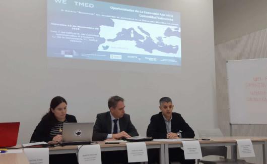 Fondos Europeos anima a aprovechar las oportunidades de financiación para proyectos valencianos de Economía Azul