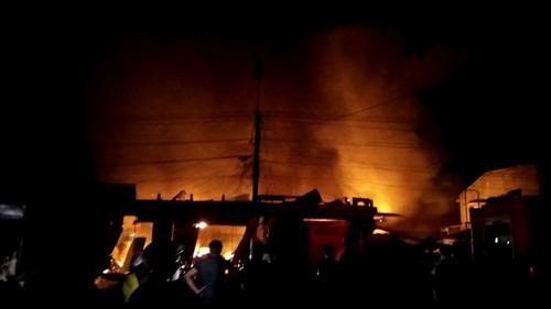 Gia Lai: Cháy chợ, thiệt hại hàng chục tỉ đồng
