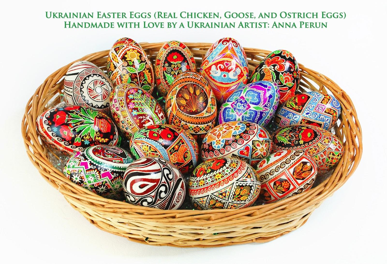 Easter Egg Tree Paintings