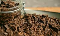 """Bei Schokolade kann ich schwer und leider selten """"Nein"""" sagen."""