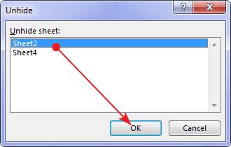 How do I hide a worksheet in Excel