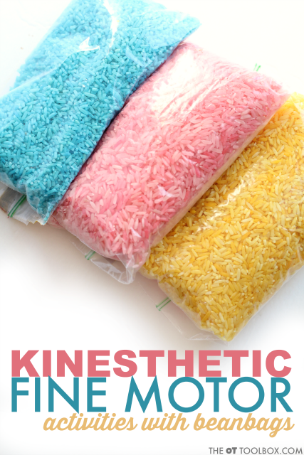 Kinesthetic Learning Fine Motor Activity