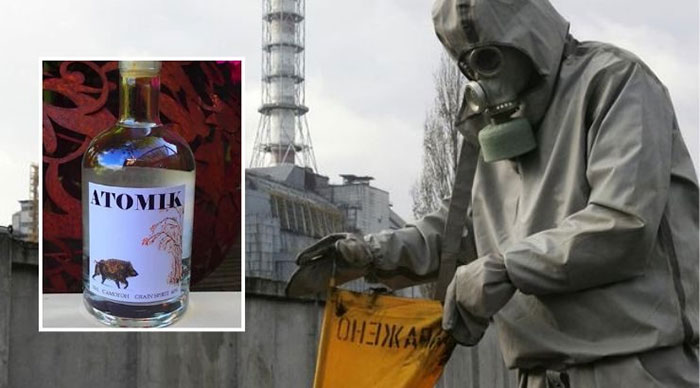 Vodka yang Dibuat di Bekas Lokasi Ledakan Nuklir
