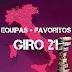 Guia Giro d'Italia 2021 - Equipas e Favoritos