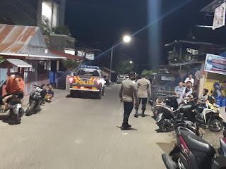 Pada Bulan Suci Ramadhan Personil Polsek Anggeraja Gencarkan Patroli Blue Light