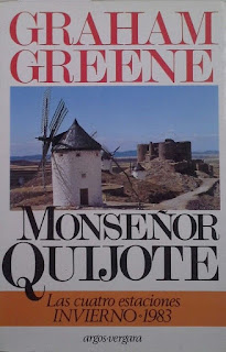 El Quijote, Cervantes, Graham Greene, España en Graham Greene