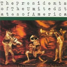 THE PRESIDENTS OF U.S.A. - The Presidents of U.S.A. - Los mejores discos de 1995