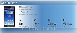 3. Asus PadFone X