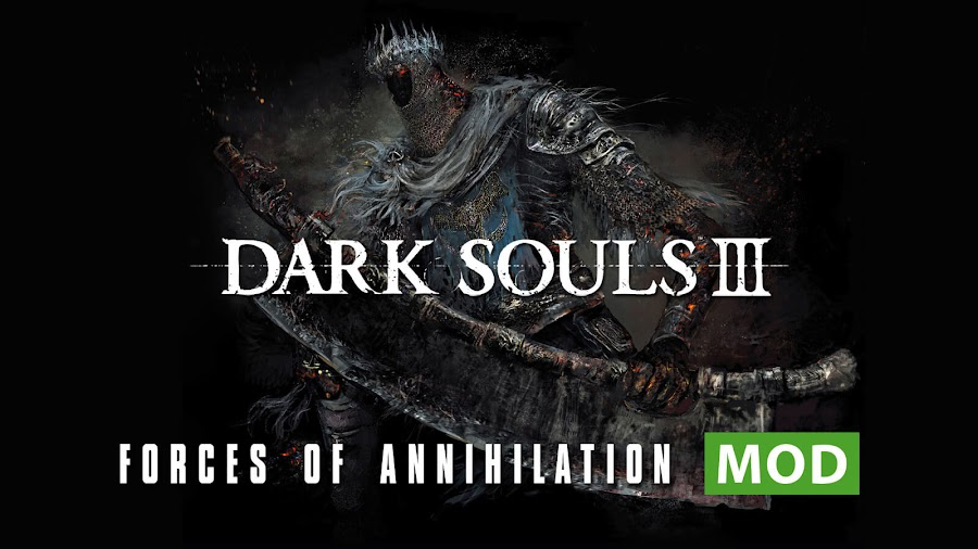 dark souls 3 forces of annihilation mod yhorm the giant