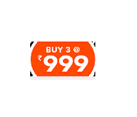 Jabong: Buy Clothing, Footwear & Accessories Buy any 3 for Rs. 1048